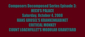 Composers Decomposed Series Episode 3: 