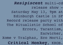 Resipiscent multi-cd release show -